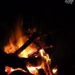 campfire, hiking, hike, fire