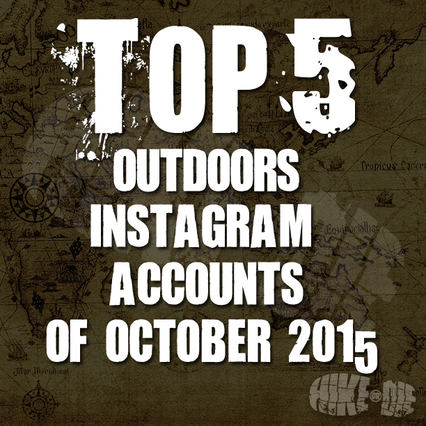 Top 5 Outdoor Instagram accounts of October 2015