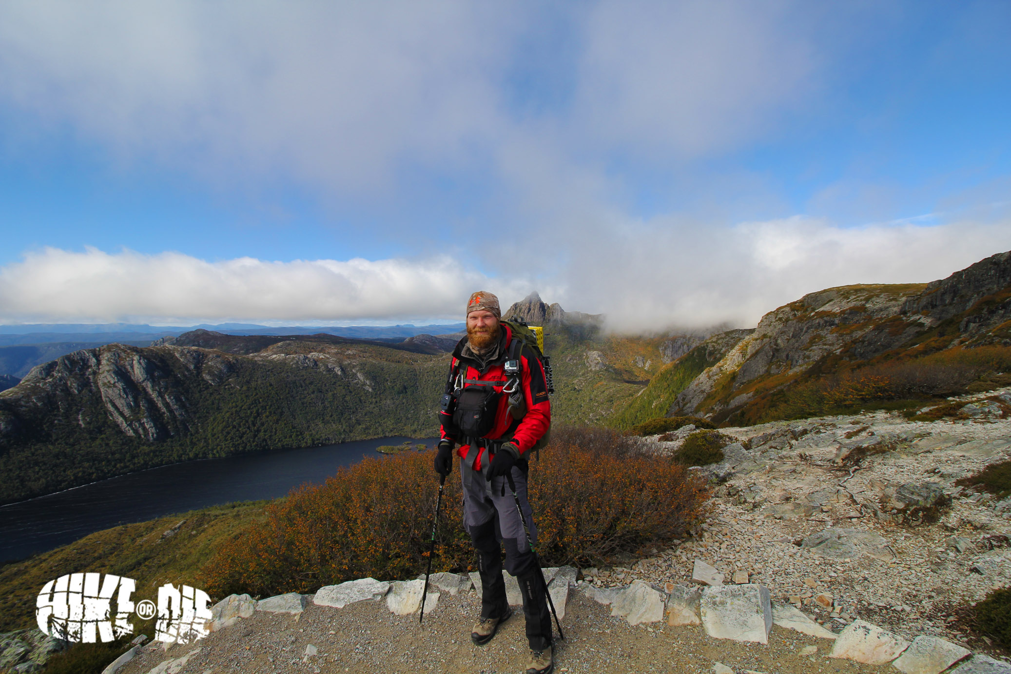 Dove Lake, Overland Track, Tasmania.